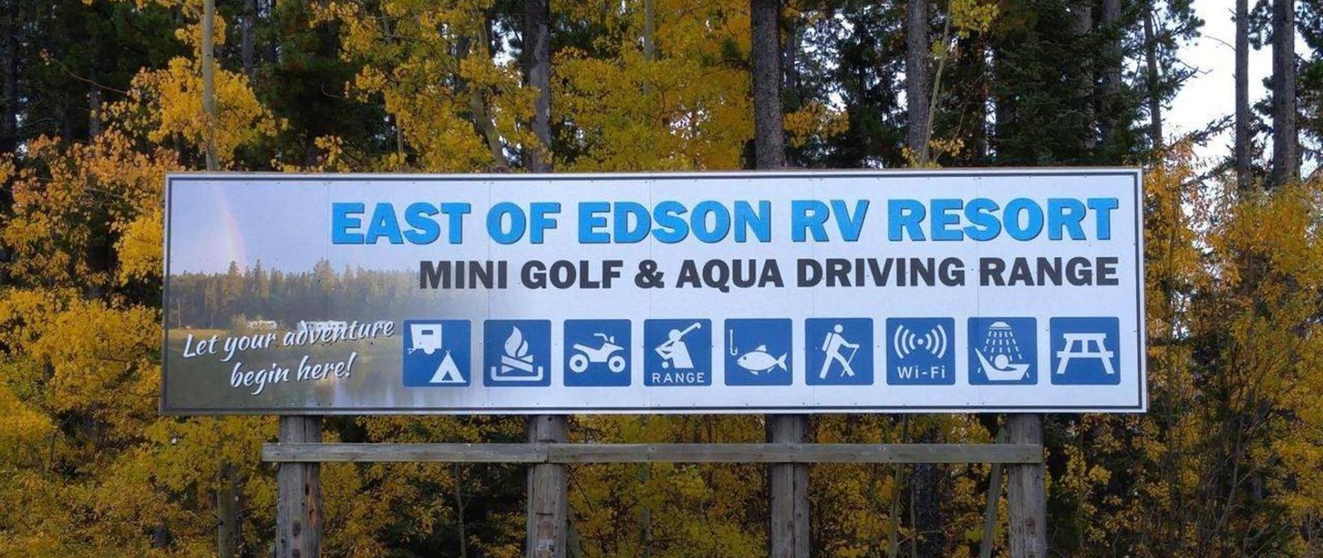 À l'est d'Edson RV Resort
