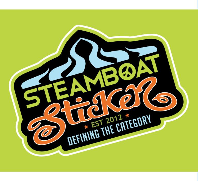 Autocollant bateau à vapeur
